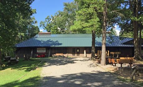 Kimble Dining Hall at Camp Tuscazoar
