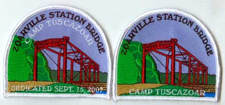 Zoarville Station Bridge patches