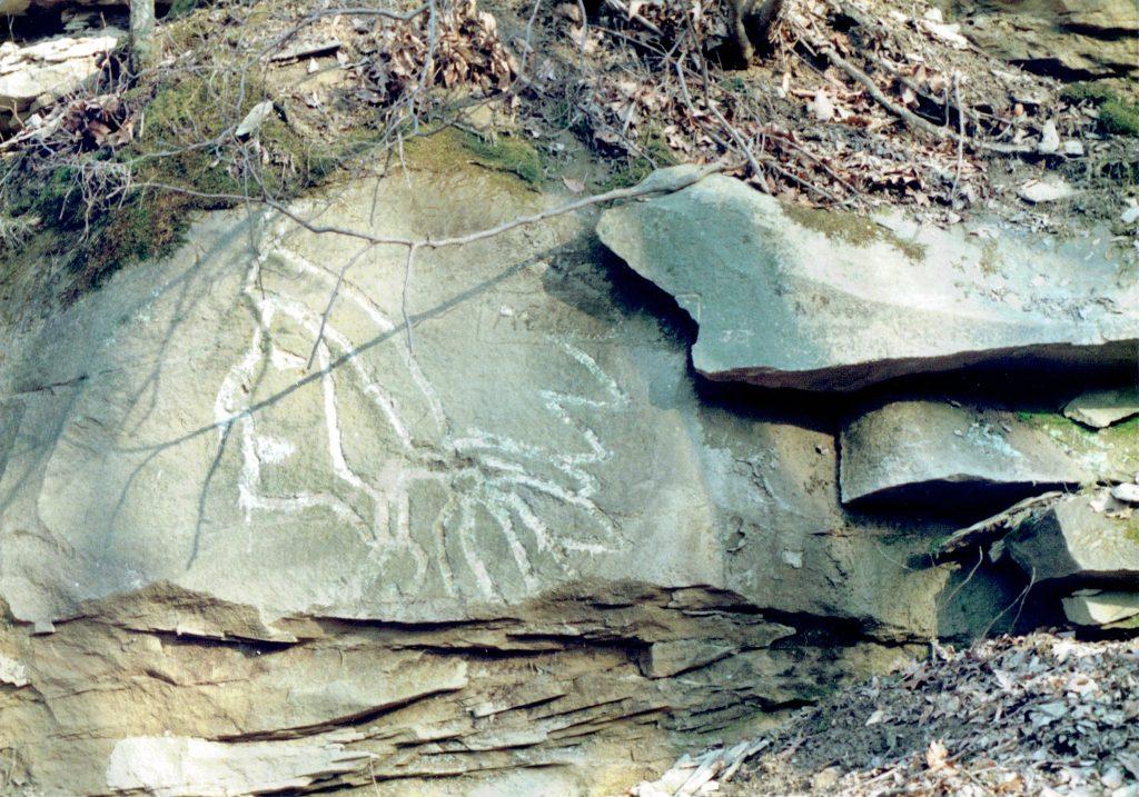 Rex Farrall carving