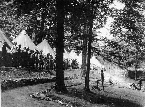 First central camp