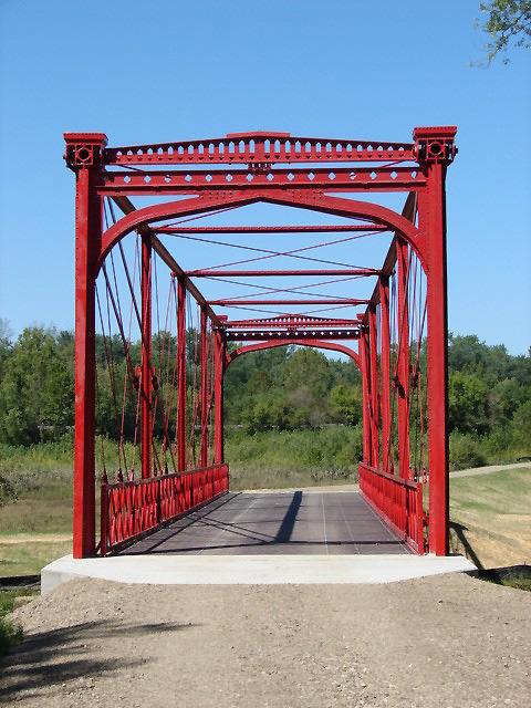 Completed Zoarville Station Bridge