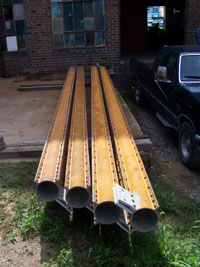 Reassembled horizontal columns