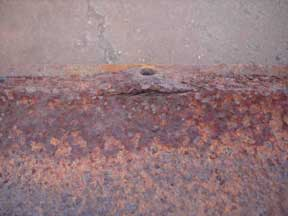 Pack rust popped rivet