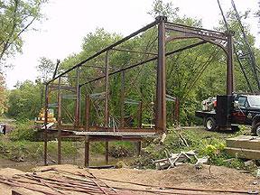 Dismantling by Sheldon Gantt of Niles, Ohio.