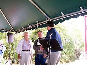 Dave Tschantz, Aldo Balestra and Bob Dermer