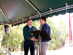 Dave Tschantz and Richard Bible