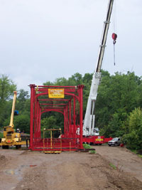 Preparations finalized for lift
