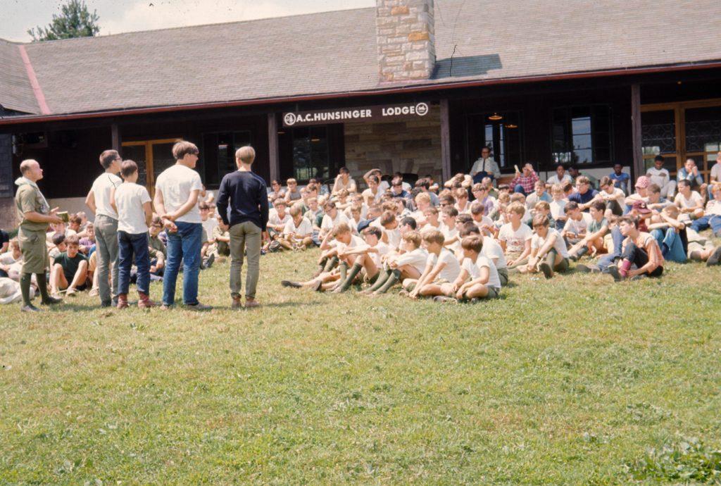 Hunsinger Lodge 1967