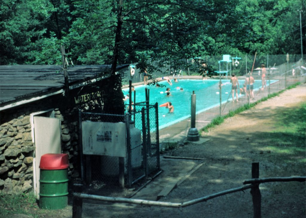 Camp Buckeye swimming pool 1976