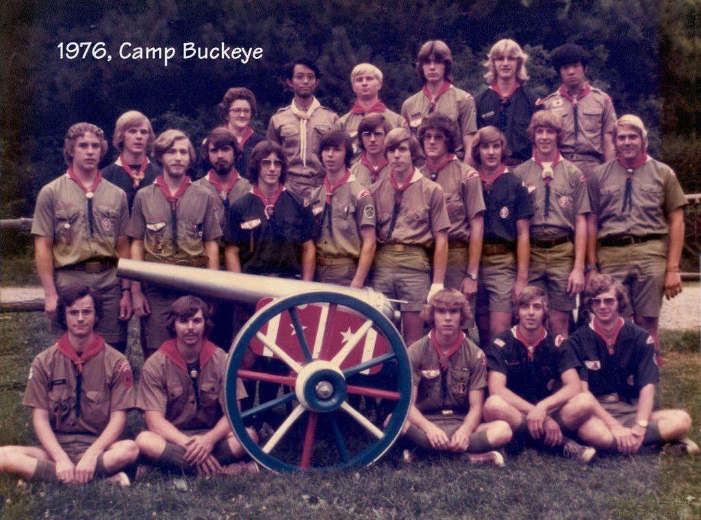 Camp Buckeye staff 1976